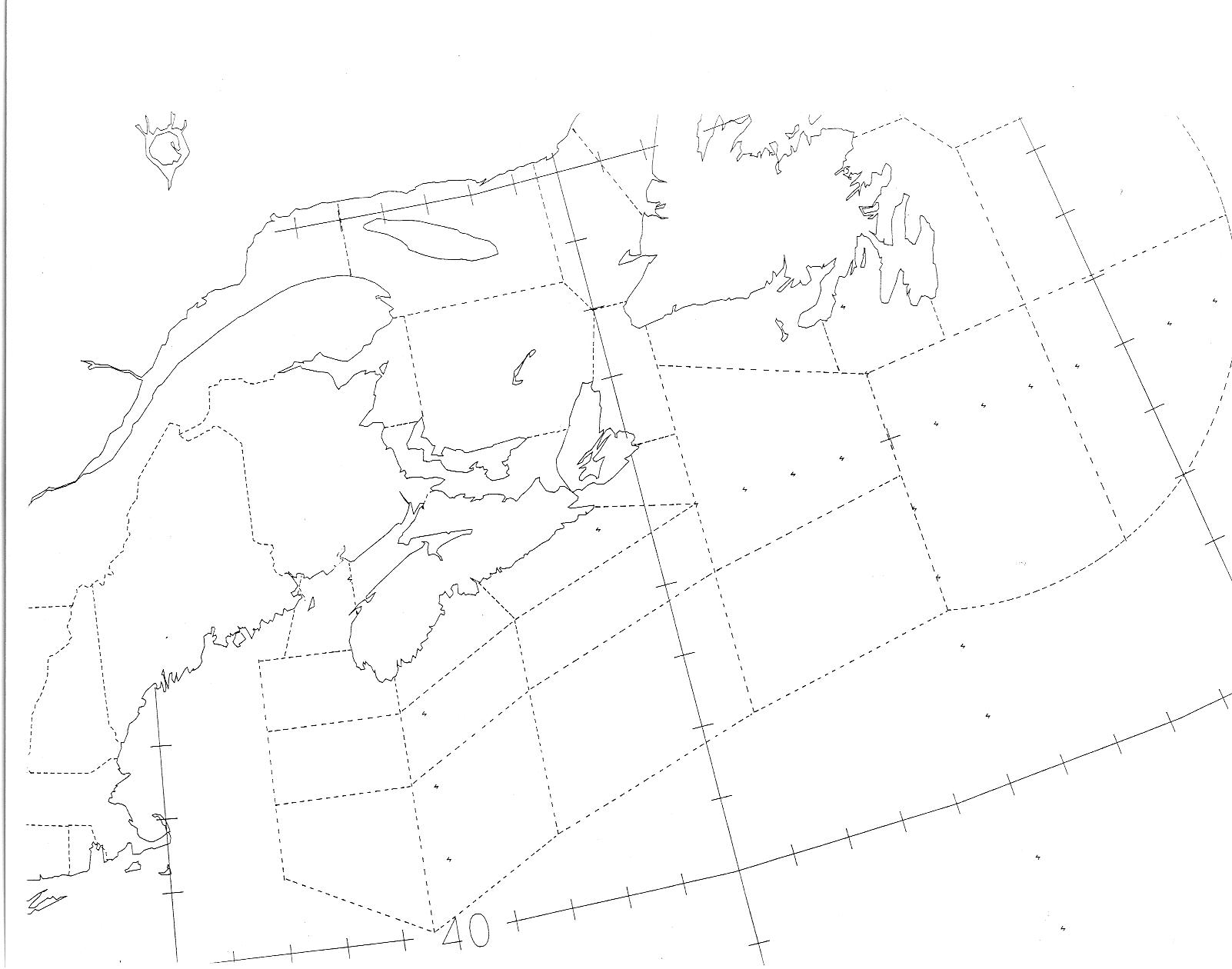 Grade 5 Blank Map Of Canada.Novaweather
